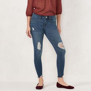 LC Lauren Conrad Super Skinny Jeans Size 16